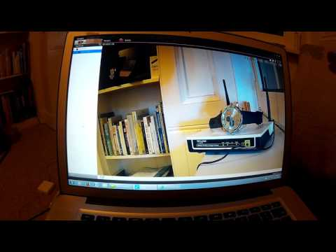 How to setup Zmodo ZP-IBH13-W camera - motion detection video & smartphone alerts