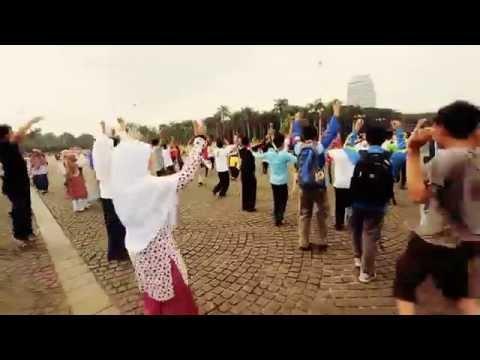 Flashmob #TahunKe3GK (Kobarkan Semangat Indonesia)