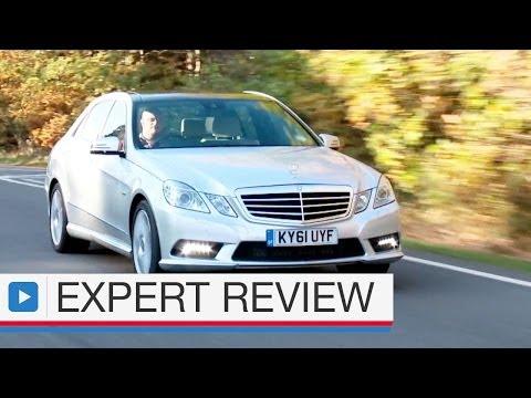 Mercedes-Benz E-Class Saloon expert car review ( pre-facelift video)
