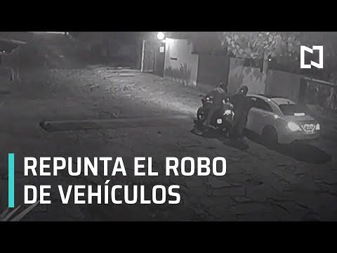 Robo de vehículos en el Edomex - Por las Mañanas