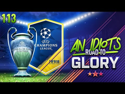 THE  CHAMPIONS LEAGUE LICENSE IN FIFA!!! AN ID**TS ROAD TO GLORY!!! Episode 113