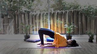 Yoga para alívio na região lombar