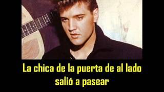 ELVIS PRESLEY - The girl next door ( con subtitulos en español )  BEST SOUND