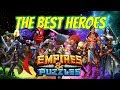 Tips for best heroes in Empires and Puzzles for raiding, titans, tanks guide : Anchor 7DD