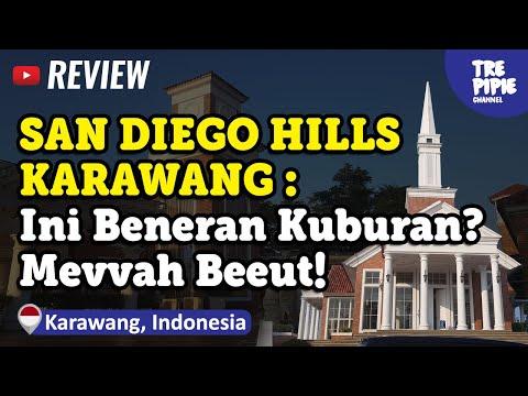 Melihat Kuburan Mewah di SAN DIEGO HILLS MEMORIAL PARK & FUNERAL HOMES KARAWANG