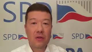 Tomio Okamura: Hlasování o důvěře