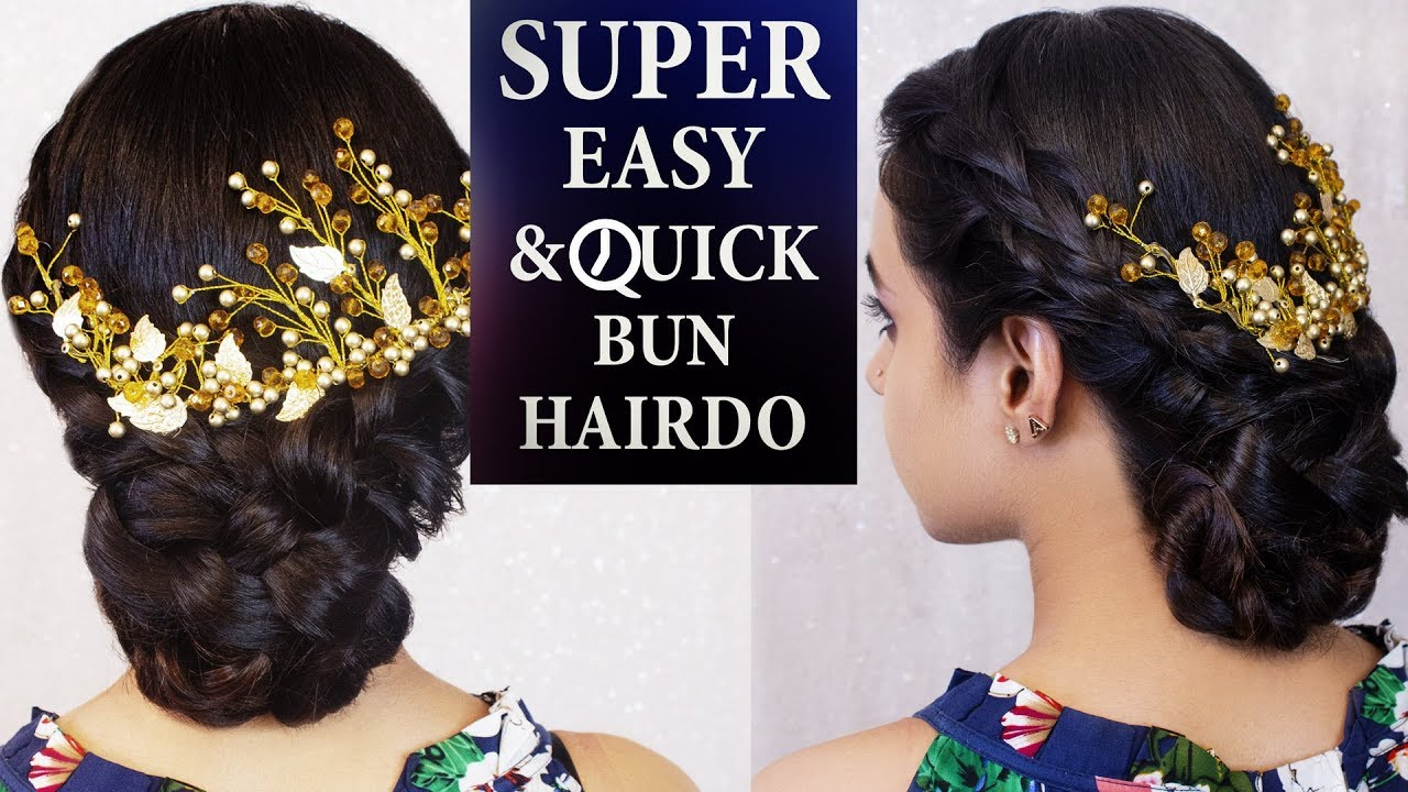 Quick Easy Party Hairstyle Tutorial Easy Pinterest Inspired