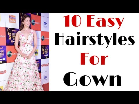 10-easy-hairstyles-for-gown-|-different-hairstyles-|-party-hairstyles-|-trendy-hairstyles