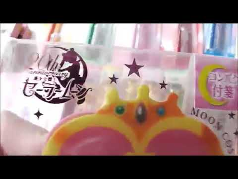 Sailor Moon Stationery Review  Wand Pens & Pointers  Locket Sticky Notes   Part 2