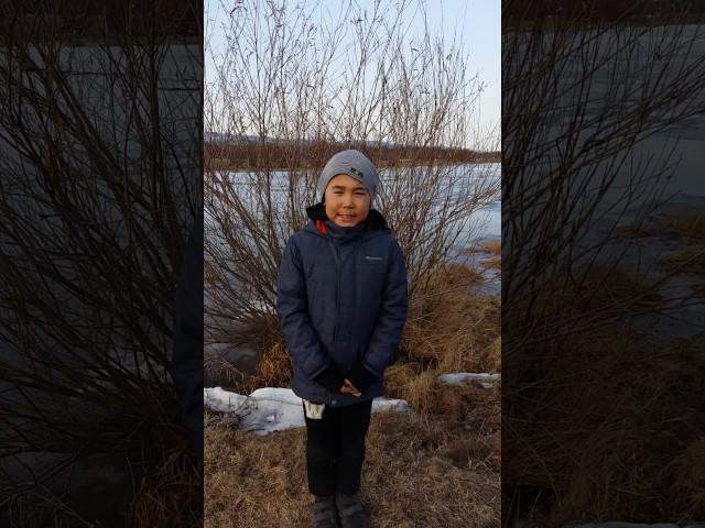 Изображение предпросмотра прочтения – СветланаБадмаева читает произведение «Весна (Зима не даром злится…)» Ф.И.Тютчева