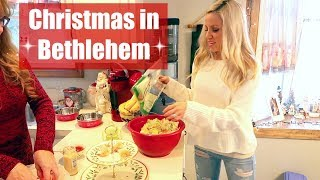 VLOGMAS 2017 DAY 17// DAY IN THE LIFE // BETHLEHEM CHRISTMAS // MEET MY CRAZY FAMILY