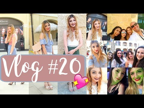 Vlog #20 | Malta Fashion Week 2017 - The week I met so many Maltese Bloggers