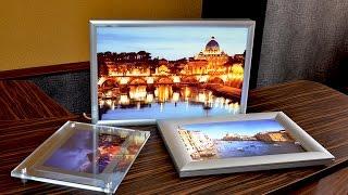 видео Рекламные световые панели Кристалайт (Crystalight)