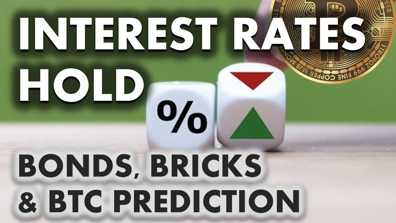Interest rates hold | My price prediction for Bitcoin