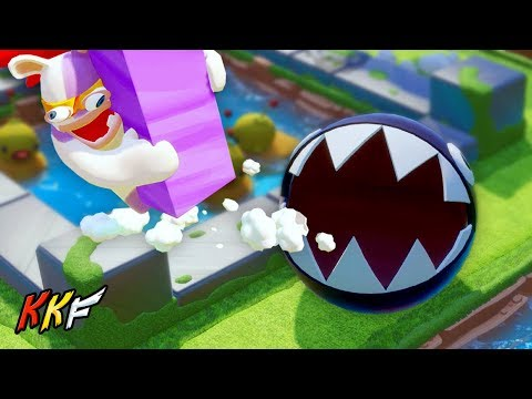 DLC Co-op Challenge: Chomping At The Bit (2 Player) - Mario + Rabbids Kingdom Battle