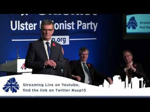 Mike Nesbitt Party Leader - UUP Conference 2015