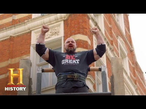 BRIAN SHAW&39;S RECORD BREAKING FEATS OF STRENGTH  The Strongest Man in History Season 1  History