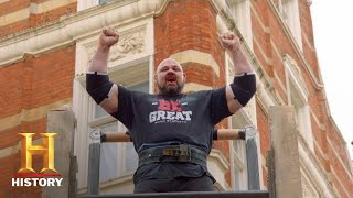 BRIAN SHAW'S RECORD BREAKING FEATS OF STRENGTH | The Strongest Man in History (Season 1) | History