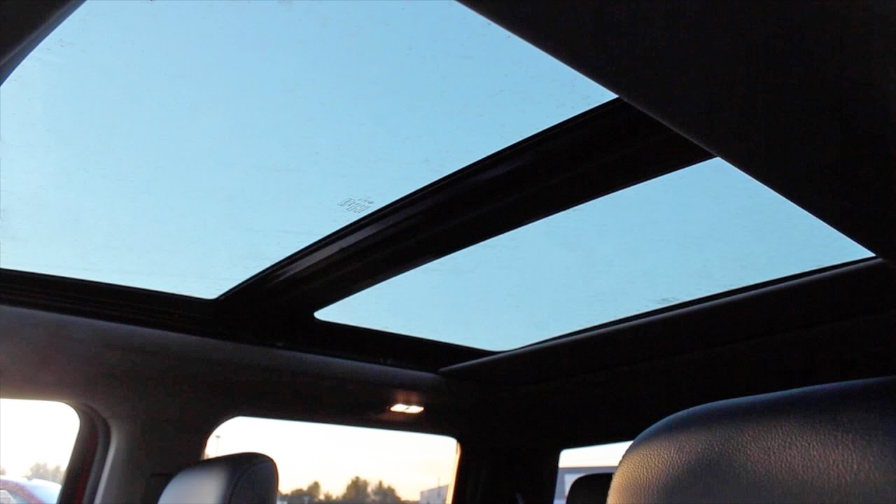 Beautiful ford F150 Sunroof Repair