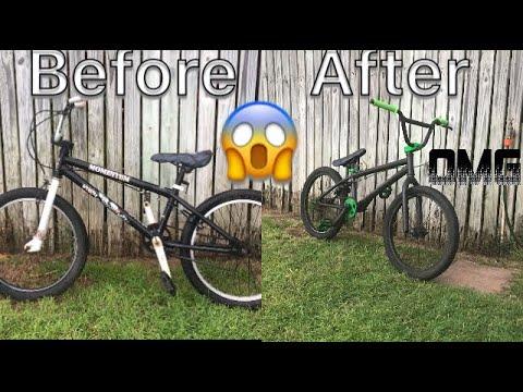 Old Walmart Bike Restored