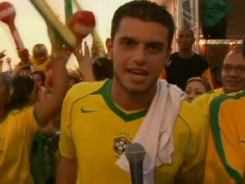 FIFA World Cup 2010 - Amazing celebrations in both Rio and Santiago as Brazil beat Chile 3-0