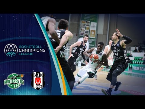 Nanterre 92 v Besiktas Sompo Japan - Full Game - Basketball Champions League
