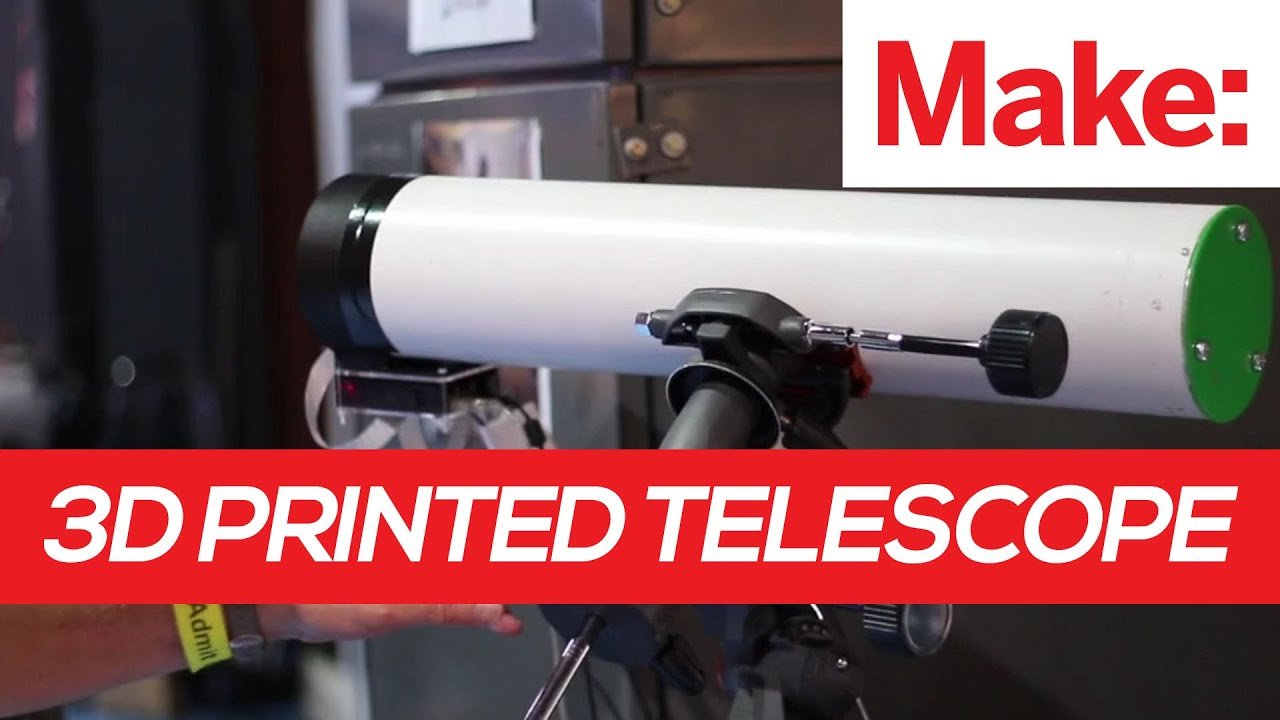 The PiKon 3D Printed Telescope