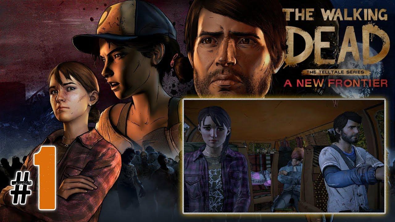 """Let's Play: The Walking Dead NF odc. 1 – Epizod I [1/3] – """"Nowy początek"""""""