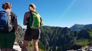Bergtour aufs Rubihorn bei Oberstdorf im Allgäu