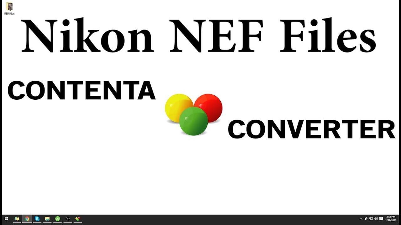 nef converter to tiff