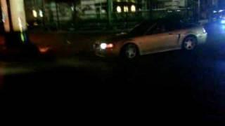 Jaime derrape VS Mustang V8 ceritos drift