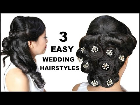 3 Easy & Elegant Bridal Hairstyles With Mini Wedding Clips- Beautyklove