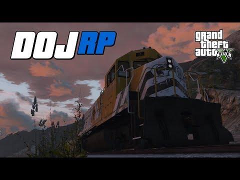 GTA V  DOJ - Episode 30 - Disaster on the Tracks.