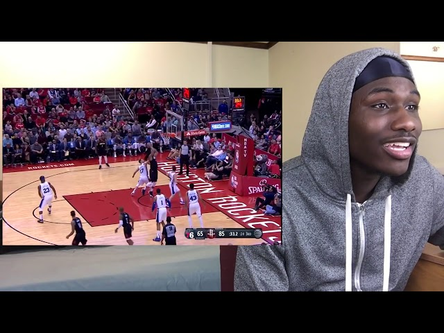 BEST OFFENSIVE TALENT OF THE DECADE! Houston Rockets vs Philadelphia Sixers   BLAQ REACTION  