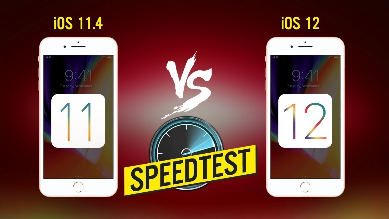 Speedtest iOS 12 Beta vs iOS 11.4 trên iPhone 6 & cái kết bất ngờ