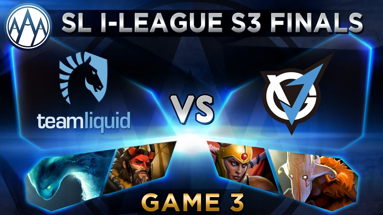 Liquid vs VG.J Game 3 - SL i-League StarSeries S3 LAN Finals - @BTSGoDz @LyricalDota