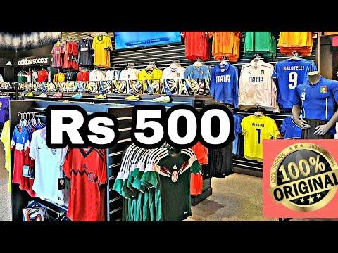 Where to Buy Original Football Jerseys in Mumbai| Colaba Causeway shopping Haul 2019 | Bombay Vlog