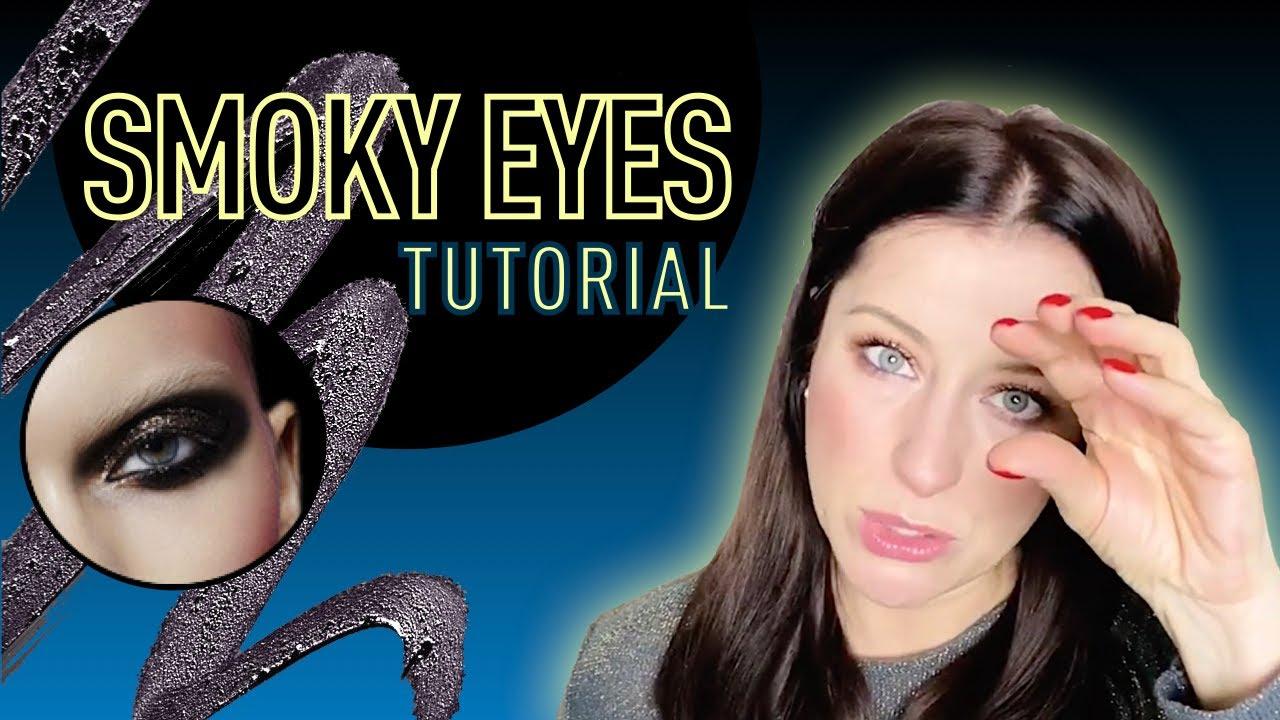 Делаем идеальные Smoky Eyes (смоки айс)