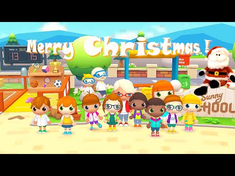 sunny-school-stories-|-school's-out-for-christmas-#2-(android-gameplay)-|-cute-little-games