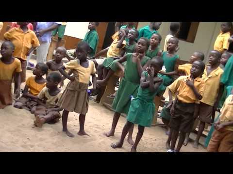 African Adventures, Ghana. Tegbi School Dance