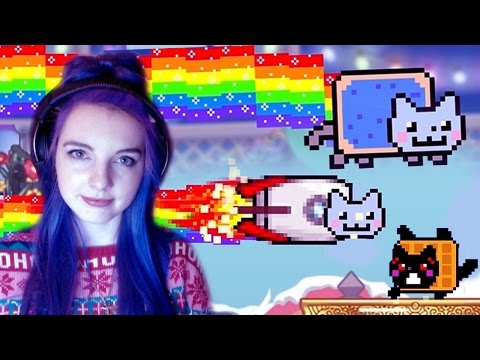 nyan-cat:-lost-in-space-|-kawaii-addictive-game!!