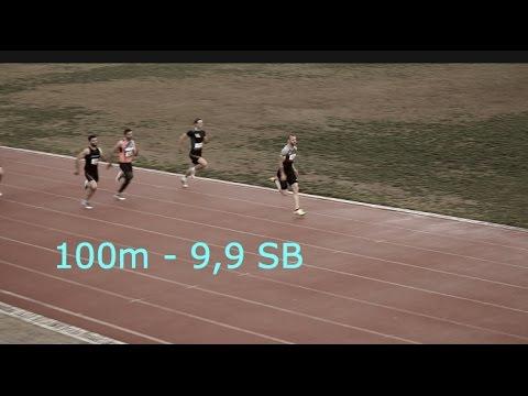 Ramil Guliyev 100м 9,9. Первый бег в сезоне.