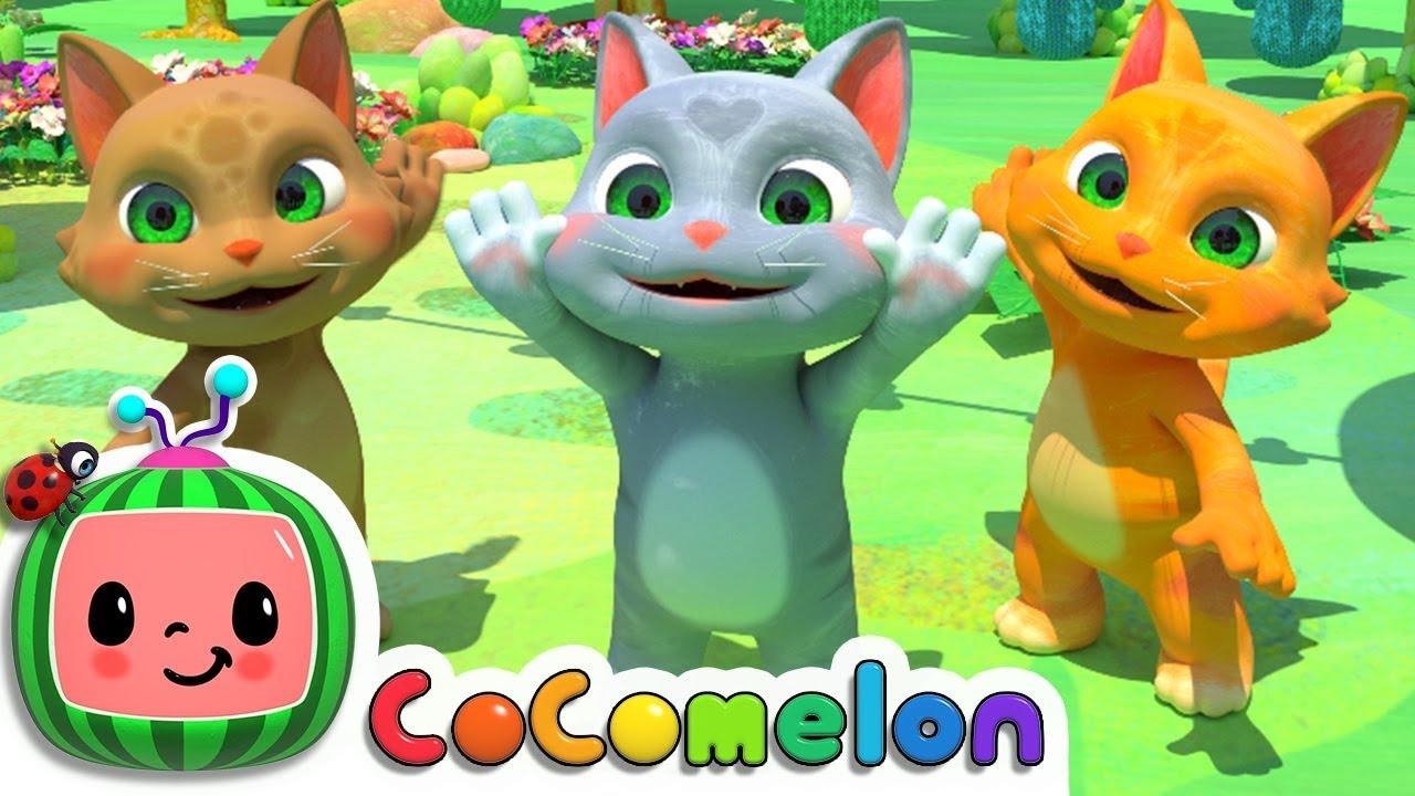 Three Little Kittens   CoCoMelon Nursery Rhymes & Kids Songs