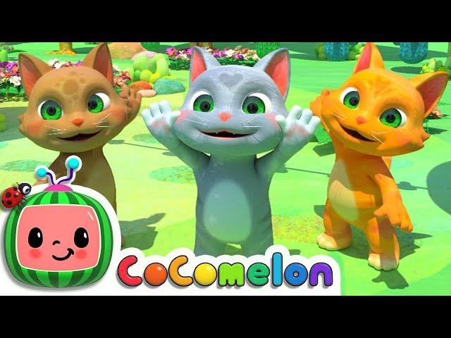 Three Little Kittens | Nursery Rhymes & Kids Songs - ABCkidTV