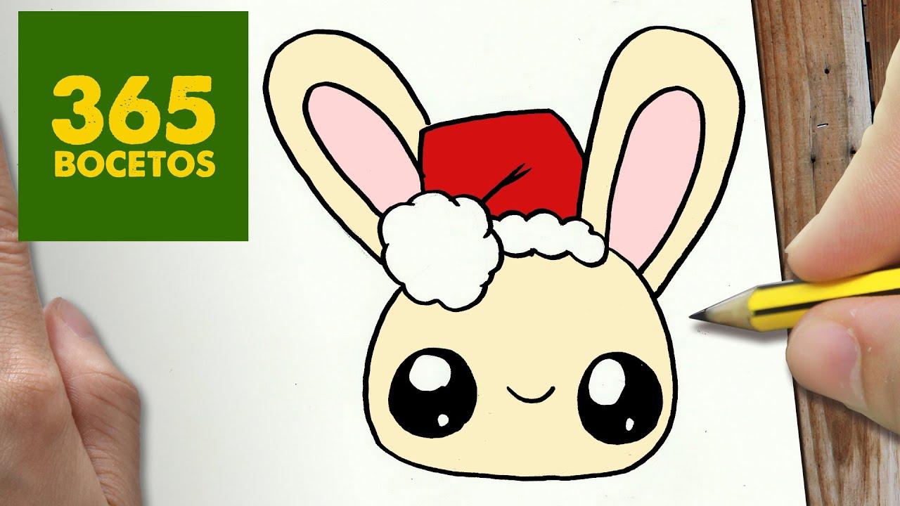 Como Dibujar Libreta Kawaii Paso A Paso Dibujos Kawaii: Dibujos Para Colorear De Navidad Faciles Kawaii