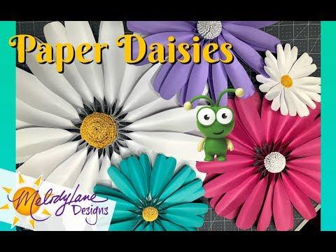 Daisy Paper Flowers