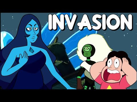 BLUE & YELLOW DIAMOND ARE INVADING EARTH- Steven Universe News