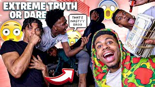 EXTREME TRUTH OR DARE W/THE GANG🔥🤟🏾(Gets Personal‼️) *Cash Prize