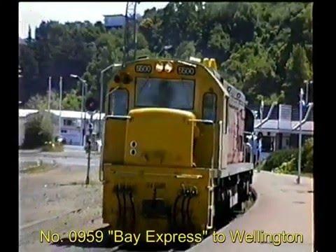 VIDEO 119, Journey Around the World 106,  Napier to Wellington,  1 Feb , 1990