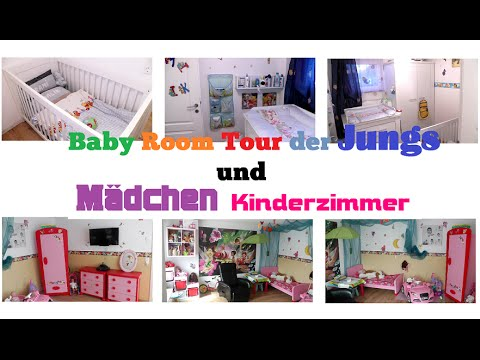 roomtour m dchen kinderzimmer und jungs zwillingszimmer youtube. Black Bedroom Furniture Sets. Home Design Ideas